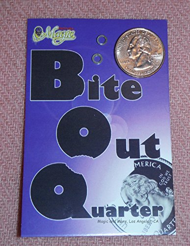 Bite Out Quarter by Royal Magic