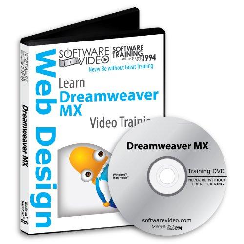 Software Video Learn Adobe Dreamweaver MX Training DVD Sa...