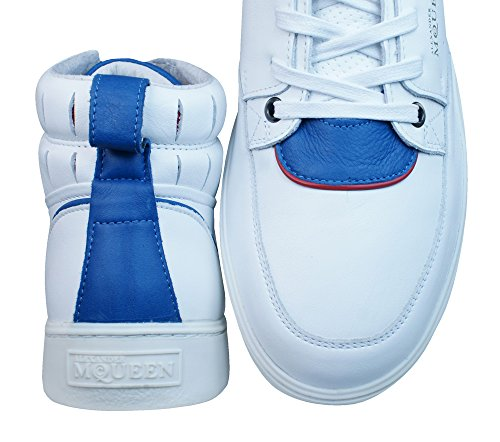 Puma Alexander McQueen Summer Joust Mens Leather Sneakers / Hi Tops-White-10.5 by PUMA (Image #2)