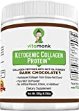 Dark Chocolate Keto Protein Powder – Tasty Grass-Fed Hydrolyzed Collagen Peptides Mixed with MCT Oil Powder for Perfect Ketogenic Diet Shakes – Sugar Free, Carb Free & Never Any Artificial Sweeteners Review