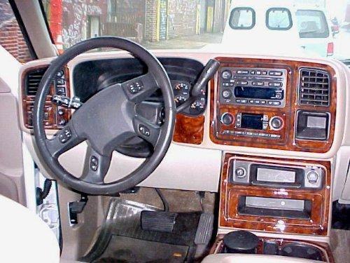 Chevrolet Dash Trim - Chevrolet CHEVY AVALANCHE INTERIOR BURL WOOD DASH TRIM KIT SET 2003 2004 2005 2006