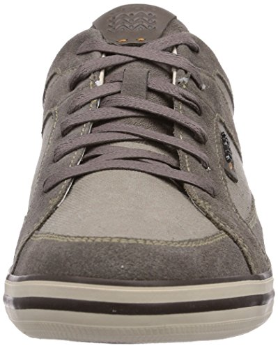 Geox U Box D, Men's Low-Top Sneakers Gray - Grau (Dove Greyc1018)