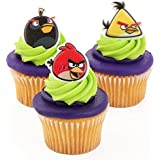 Angry Birds Officially Licensed 24 Cupcake Topper Rings