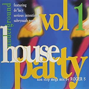 Underground house party vol 1 by various artists 1998 for House music 1998