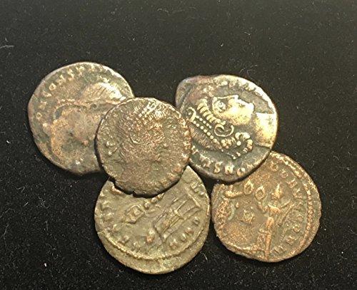 - IT 5 Roman Coins Emperor Constantine Dynasty Comes in Velvet Gift Bag Good