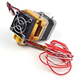 UCTRONICS MK8 Hotend Extruder Kits 0.4mm Nozzle Print Head 1.75mm Filament Heat Sink Cooling Fan for RepRap 3D Printer