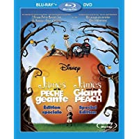James et la Peche Geante: Edition speciale / James and the Giant Peach: Special Edition (Bilingual) [Blu-ray + DVD]