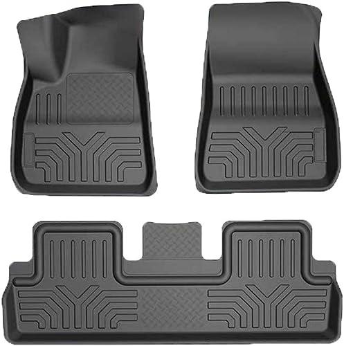 ROCCS Car Floor Mats for Tesla Model 3