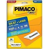 Etiquetas Adesivas 6080 25,4x66,7mm Pimaco