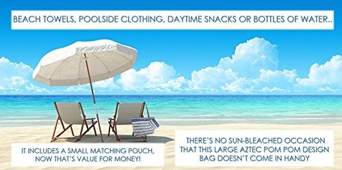 Summer Deluxe Premium Bags Beach Blue Aztec 5HF8nvHO
