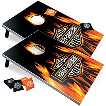 Amazon Com Harley Davidson 66279 Flame Bar And Shield