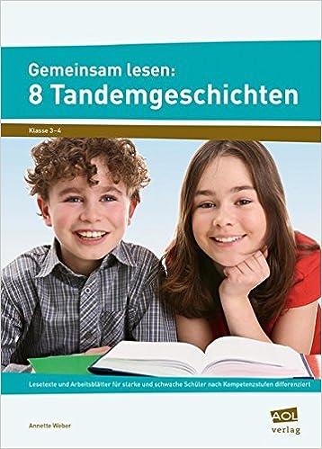 Gemeinsam lesen: 8 Tandemgeschichten: Lesetexte und Arbeitsblätter ...