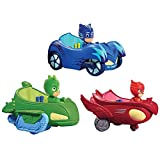 PJ Masks Toys Action 3 Pcs/Set Model Car Toys - 3 Big Vehicles With 3 Figures