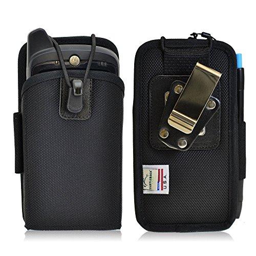 - Turtleback Mobile Computer Case Made for Zebra Motorola MC67 KT-67NA Touch Computer Nylon Holster, 2 Belt Clips (Metal Clip & Belt Loop) Mobile Scanner Holder Fits Devices 6 1/4