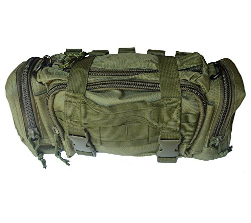 (Renegade Survival First Aid Kit By for Camping and Hiking or Home and Workplace. It Is a Complete Kit for the Prepper Who Wants the Best Tactical Gear (OD)