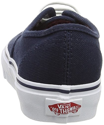 Vans Authentic, Sneakers Mixte Adulte Bleu (Twill & Gingham/Dress Blues/True White)