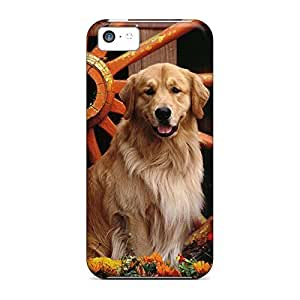 Colorful phone carrying cases Protective Series iphone 5 / 5s - golden retriever hjbrhga1544