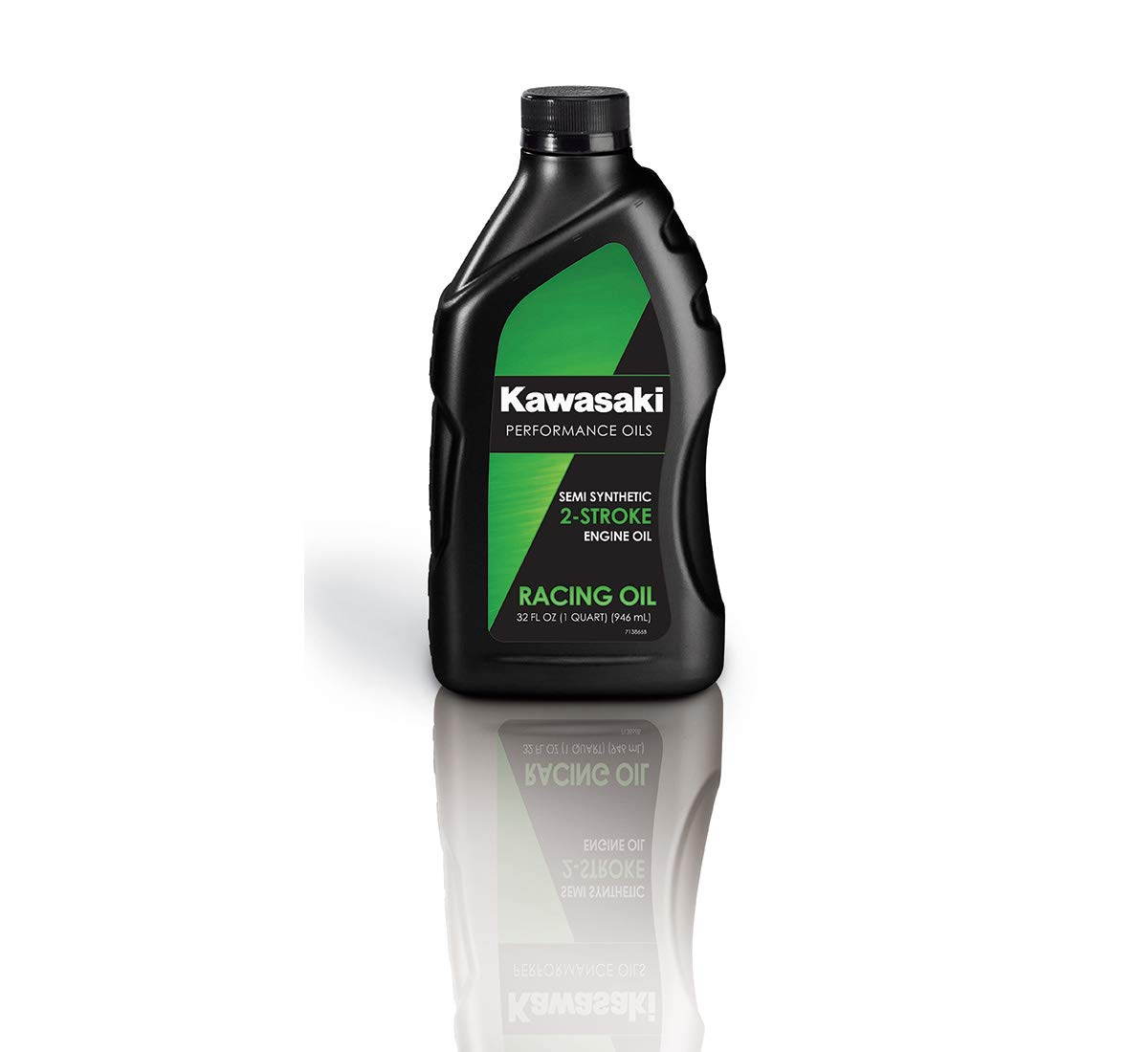 Kawasaki 2-Stroke Motorcycle Racing Oil 1 Quart K61021-208A by Kawasaki