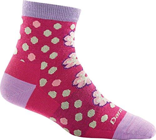 Darn Tough Flower Power Shorty Light Sock - Womens