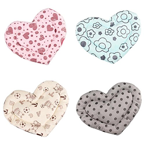 y Squirrel Cage Heart Shape Hamster Cage Guinea Pig Mat Seat Pad Small Animal Sleep Bed ()