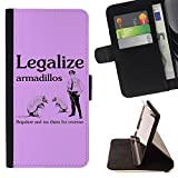 Best Armadillo Cases iPhone 4 Cases - STPlus Armadillos Legalize Tax Funny Wallet Card Holder Review