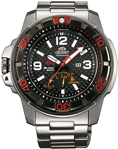 Orient SEL06002B Men's Limited Edition X STI M-Force Power Reserve Automatic Diver Watch