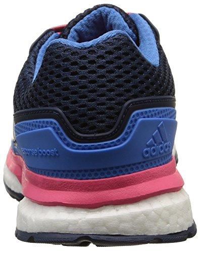 Pink F15 Running Boost De super 2 Techfit Bleu super Femme Chaussures Adidas F15 collegiate Response Navy Blue SPUBwqBZ