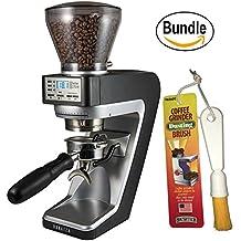 Baratza Sette 270W - Conical Burr (with Grounds Bin and built-in PortaHolder) & Brushtech Coffee Grinder Dusting Brush (Bundle)