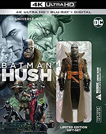 Amazon.com: Batman: Hush 4K Limited Edition (4K Ultra+Blu ...