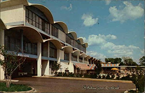 Holiday Inn Central Dallas, Texas Original Vintage Postcard from CardCow Vintage Postcards