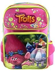 Dreamworks Trolls Poppy & Friends 16 Hot Pink Large School Backpack for Kids