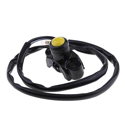 Amarillo CNC Engine Kill Switch Button For Honda CR CRF SL XR TRX 125 150 250