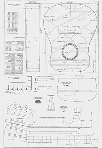 Martin d28 style guitar plans to build full scale acoustic martin d28 style guitar plans to build full scale acoustic guitar b001eo9qis amazon price tracker tracking amazon price history charts malvernweather Gallery