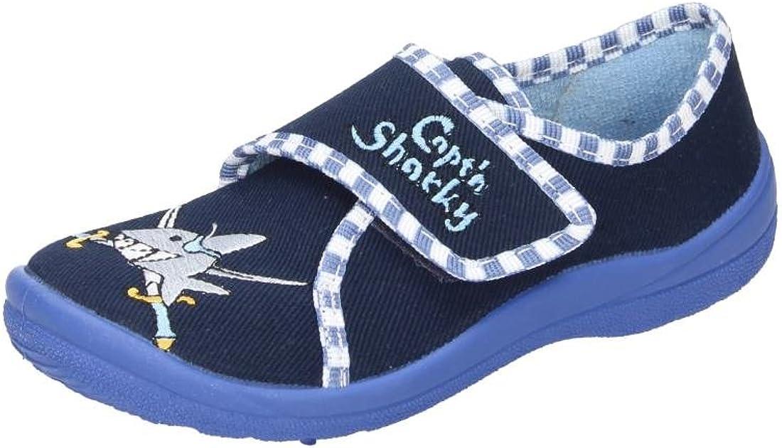 Captn Sharky Boys Hausschuh Blau 230279-5