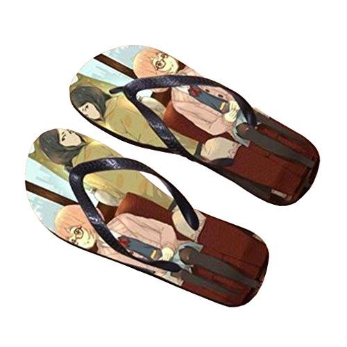Bromeo Kyokai no Kanata Anime Unisex Flip Flops Chanclas 689