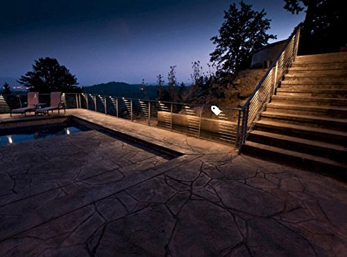 FVTLED Pack of 20 Warm White Low Voltage LED Deck lights kit Φ1.38'' Outdoor Garden Yard Decoration Lamp Recessed Landscape Pathway Step Stair Warm White LED Lighting, Black by FVTLED (Image #6)