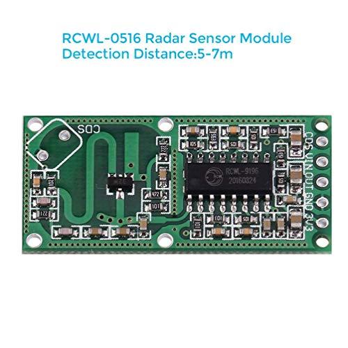 WHDTS 5PCS RCWL-0516 Microwave Radar Sensor Smart Switch