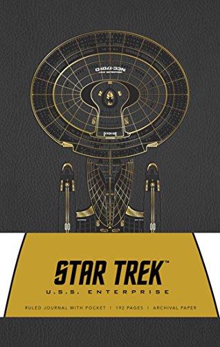 (Star Trek Hardcover Ruled Journal: U.S.S. Enterprise)