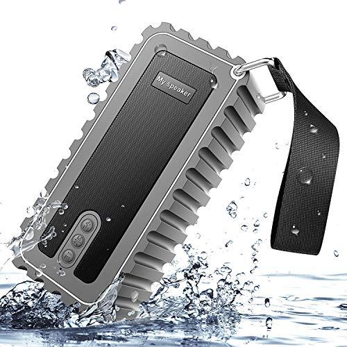 XUEME Bluetooth Altavoz portátil Bluetooth 4,1 estéreo Altavoz con Tiempo de Juego de 15 Horas, micrófono Incorporado para...