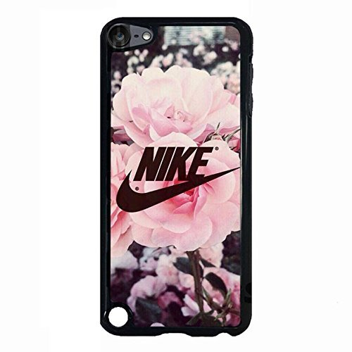 Price comparison product image Appealing Floral Background Design Nike Phone Case Cover for Ipod Touch 5th Generation Just Do It Luxury Pattern