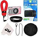6in1 Accessories Kit for Camera Olympus Tough TG-5 TG-4 TG-3 : Lens Filter Adapter as CLA-T01 + 2Pcs Screen Protector + Floating Wrist Strap + 40.5mm Lens Cap + Lens Cap Hook Keeper + Microfiber Cloth