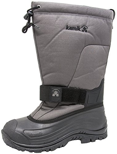 Kamik Men's Greenbay 4 Cold Weather Boot (12 D(M) US, Charcoal) -