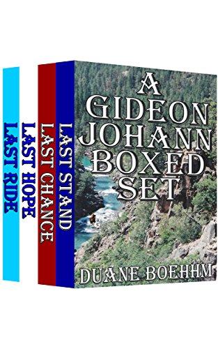 book cover of A Gideon Johann Boxed Set Book 1 - 4