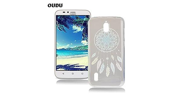 OuDu Funda para Huawei Y625 Carcasa Protectora Caso Silicona ...