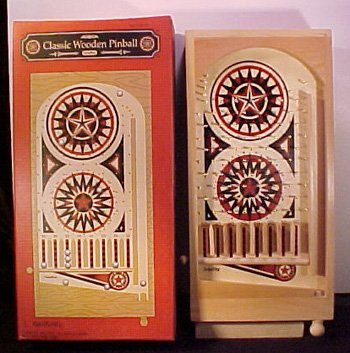 Classic Wooden Pinball