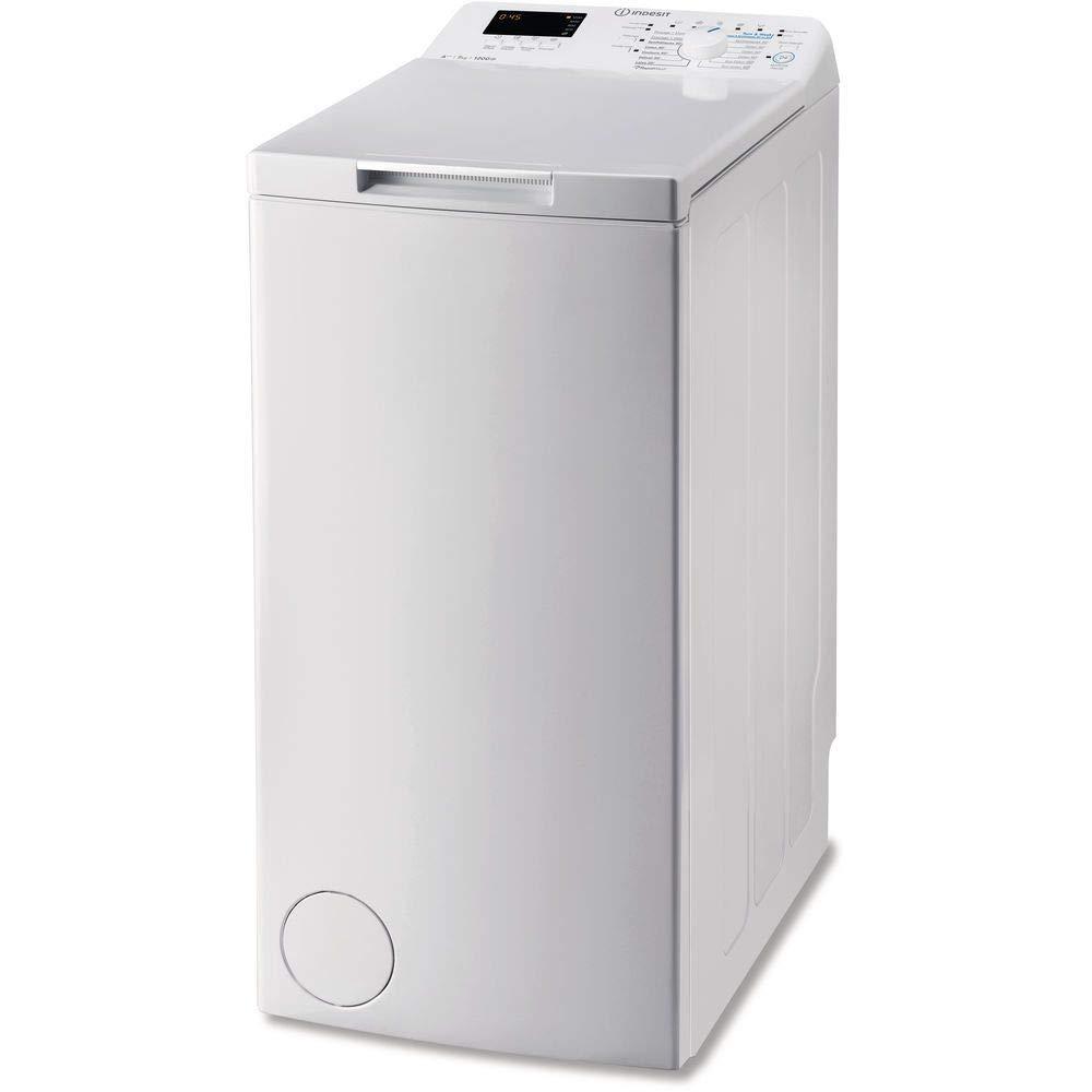 Indesit BTW C D71253 (FR) machine à laver Autonome Charge supérieure Blanc 7 kg 1200 tr/min A+++ - Machines à laver (Autonome, Charge supérieure, Blanc, Boutons, Rotatif, Haut, 7 kg)