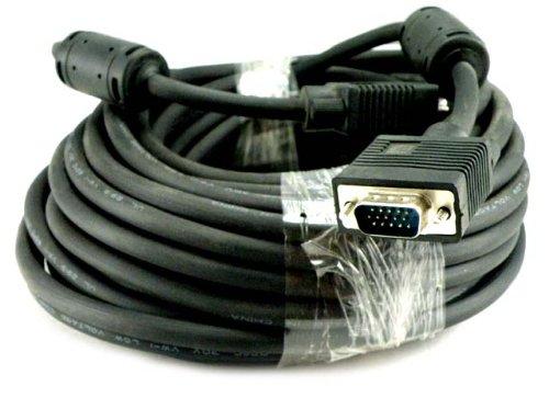Importer520 Premium VGA/SVGA/XGA/SXGA/UXGA HD15 LCD HDTV Monitor Projector Cable 25FT ()
