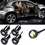 4 Pcs Car LED Door Courtesy Logo Light Shadow Laser Projector LED Welcome Light 4th Generation (For Jaguar)