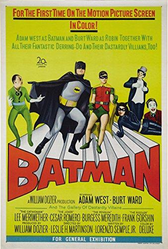 Batman: The Movie  Movie Poster 24x36