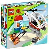LEGO DUPLO LEGOville - 5794 - Jeu de Construction - L'Hélicoptère de Secours